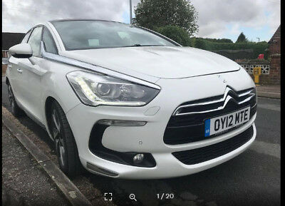Citreon DS5 2.0HDI DSPORT. NO RESERVE PRICE.