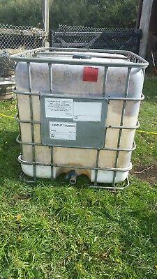 1000 litre Ibc Tank Pre owned Water, animal browser Rain water harvest, Storage