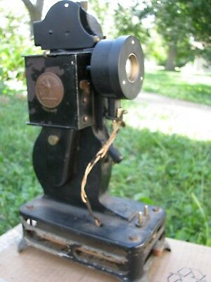 Antique 1920s Pathex French Projector, good internal wheel