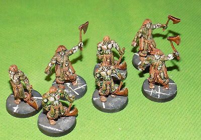 Well Painted 28mm Metal Fantasy Celtos Zombie Lot