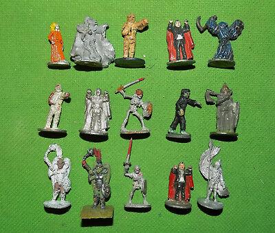 Very Rare 25mm Lead Fantasy Ral Partha Monsters Lot D&D 1970s