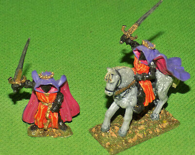 Ral Partha Lead Fantasy D&D Dark Lord Foot & Mounted