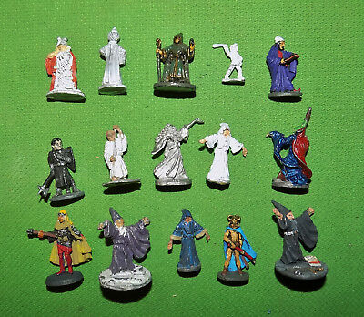 Very Rare 25mm Lead Fantasy Ral Partha Characters Lot D&D 1970s