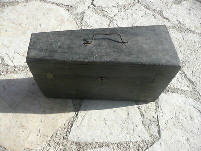 OLD CASE FOR FRENCH CORNET XIXth CENTURY