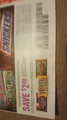 M&M Candy $2/3 off Coupons (Lot 0f 25) Expires 10/31/18