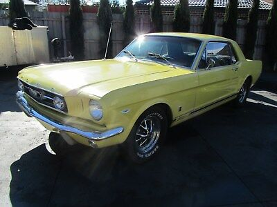 1966 ford mustang GENUINE FACTORY GT