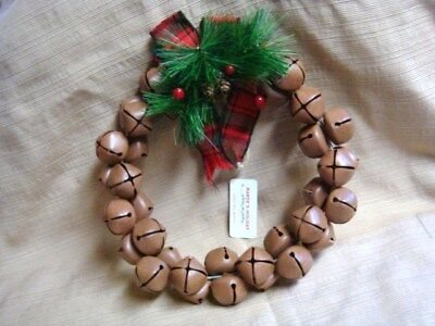 NWT Jingle Bell Wreath by Makers Holiday Jo-Ann Stores