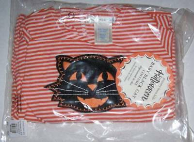 Pottery Barn Kids Baby Black Cat Bodysuit And Cap Hat Set Outfit Costume 3-6 Mo