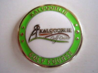 "Kalgoorlie Gc - (Australia Top 20 Golf Course) 1"" Coin Ball Marker"