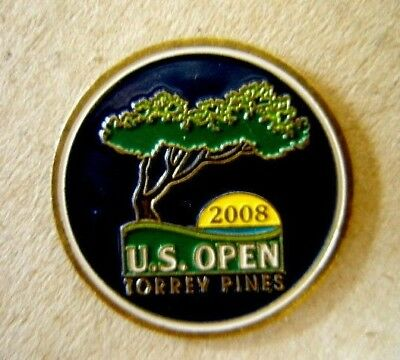 "2008 Us Open (Tiger Woods Last?? Majors Title) 1"" Coin Golf Ball Marker"