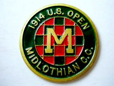"1914 Us Open (Walter Hagens 1St Majors Title) 1"" Coin ""golf  Design"" Ball Marker"