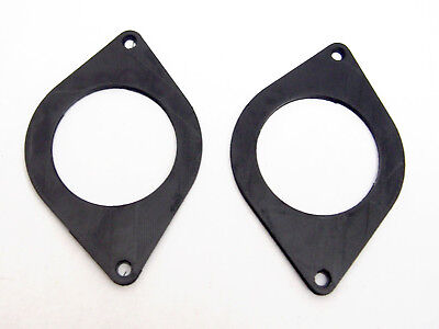 Tweeter Dash Speaker Adapter Plates (2x) for: Toyota 4Runner, Prius/Prius V