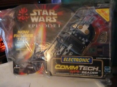 Hasbro Star Wars Episode 1 CommTech  Reader w/Exclusive Commtech Chip-New-Sealed