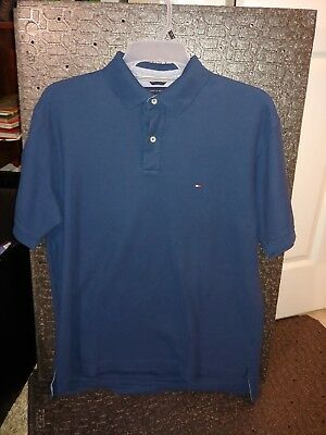 2e3535af Tommy Hilfiger Polo Golf Rugby Shirt Navy Blue Size XL, 90s style, vintage  90s