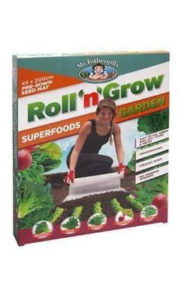 Mr Fothergills Roll 'n' Grow Seeds - Superfoods: Broccoli, Spinach, Kale, Beetro