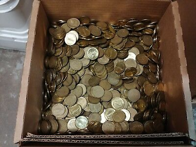 0.900 USED TOKENS Box of 3,000