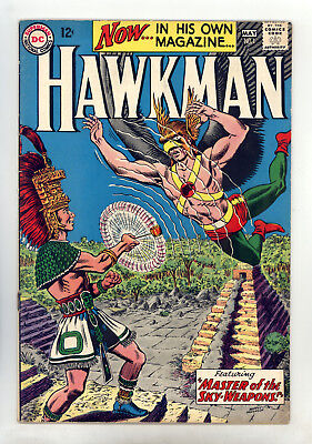 """Hawkman #1 FN Anderson, Hawkgirl, """"Master of the Sky-Weapons!"""""""