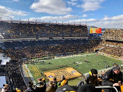 2 Pittsburgh Steelers vs Atlanta Falcons Tickets 10/7- COVERED & CLOSE to ISLE