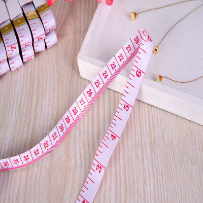 Body Measuring Ruler 60in / 150cm Sewing Cloth Tailor Soft Red Measure Ruler 60""