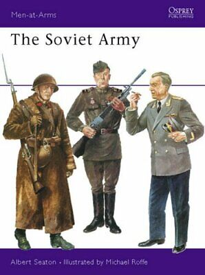 The Soviet Army (Men-at-Arms) by Seaton, Albert Paperback Book The Cheap Fast