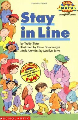 Stay in Line (Hello Reader! Math Level 2) by Slater, Teddy Book The Cheap Fast