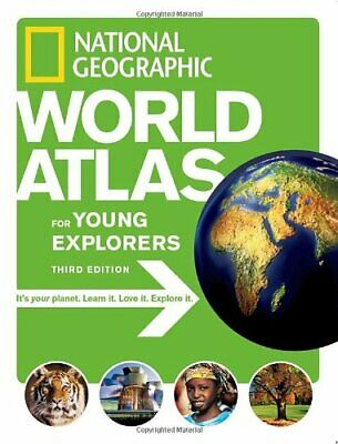 National Geographic Kids World Atlas (Atlas ) by National Geographic Hardback