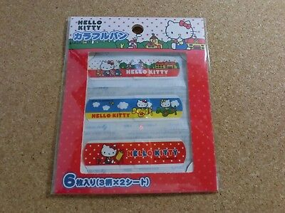 HELLO KITTY Band tape 6 pieces kawaii from japan
