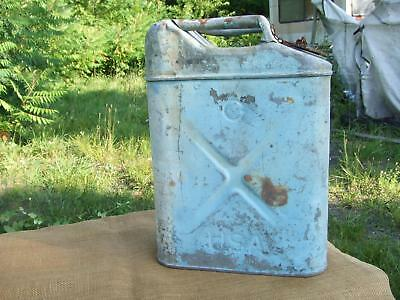 US Army Gas Jerry Can 1941 MB GPW 20-5-41 Willys Vintage Cleaned, Purged, Rare!