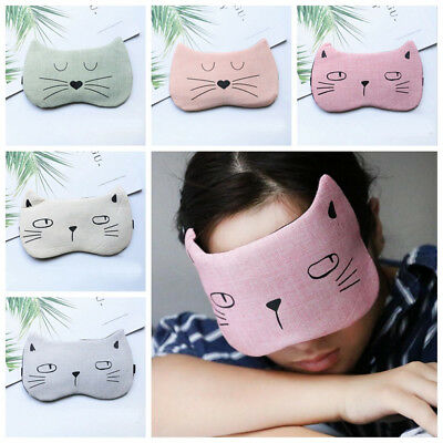 Animal Blindfold Massage Relax Eye Mask Sleeping Aid Sleep Eyeshade Eye Patch