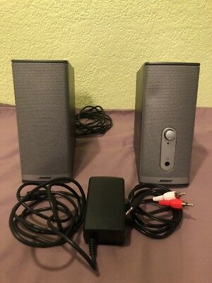 Bose Companion 2 Series II Multimedia Speaker System w/ Power Adapter