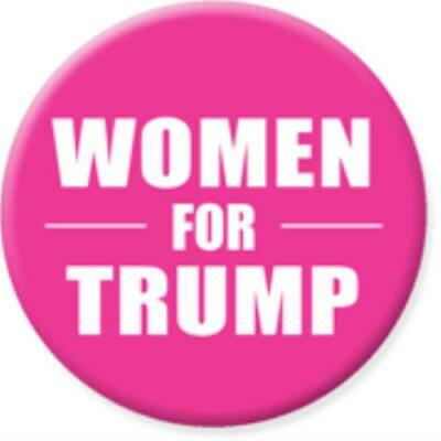 Women for Trump Button – Pink - FREE Shipping