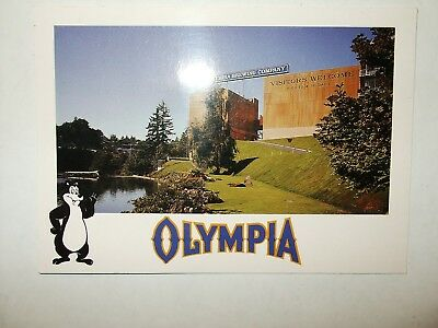 Olympia Beer Postcard Olympia, Washington