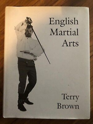 English Martial Arts by Terry Brown (Hardback, 1997) 1st edition
