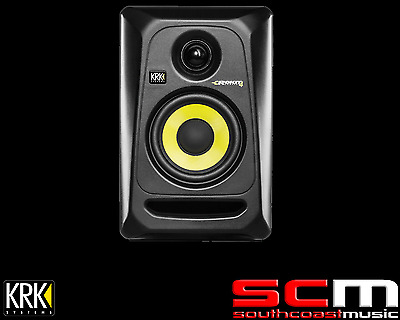 New KRK ROKIT 4 Active Studio Monitor G3 2-way Speaker 30W ROKIT4 PAIR Set of 2