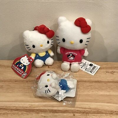 Hello Kitty Plush 40th Anniversary San Francisco Exclusive