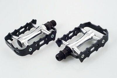 """Wellgo OEM LU-207 MTN 9//16/"""" Pedals Black For Road Mountain Bike Cycling Bicycle"""