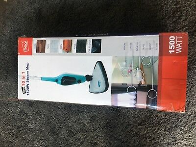 Neo 10 in 1 Steam Mop 1500w 10 Acessories Brand New