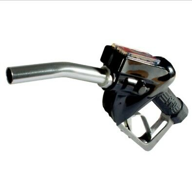 """Fuel Delivery Trigger Gun With Electronic In-Line Flow Meter 1"""" Bsp Thread"""