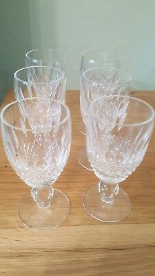 2 Waterford Crystal COLLEEN Sherry Glasses