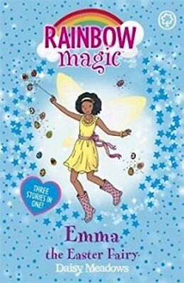 """RAINBOW MAGIC """"EMMA"""" The Easter Fairy (Three stories in one!) By DAISY MEADOWS"""
