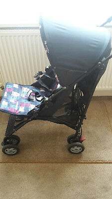Mothercare Nanu Stroller Pushchair, Navy Blue incl Instructions/New Raincover