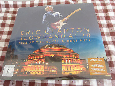 3 LP - DVD - Eric Clapton – Slowhand At 70: Live At The Royal Albert Hall - NEW