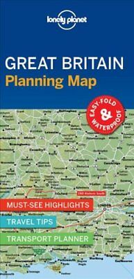 Lonely Planet Great Britain Planning Map by Lonely Planet 9781786579058