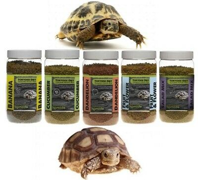 Komodo Complete Tortoise Dry Food Holistic Pellets Nutritional Healthy Diet Mix