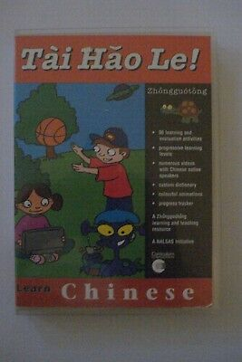 - Learn Chinese [Book & Cd Rom] Tai Hao Le  [Cost $49.95] Brand New [Now $44.75]