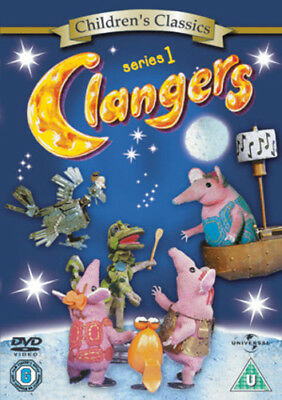 Clangers: The Complete First Series DVD (2005) Oliver Postgate ***NEW***