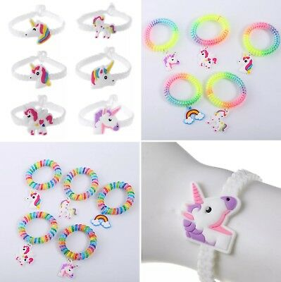 Unicorn Jelly Bracelet / Bangle / Jewellery Kids Girls Party bags / toys