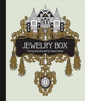 The Jewelry Box Coloring Book Published in Sweden as Smyckeskrinet 9781423649861