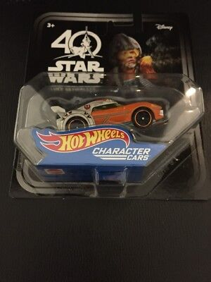 6 Hot Wheels Star Wars 40th Selten Sammlerobjekte