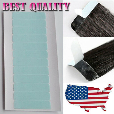 Double Sided Adhesive Super Tape For Tape in Hair Extensions US Free Shipping T2